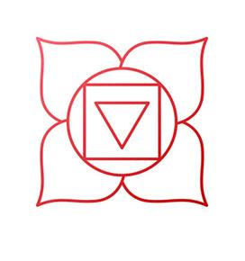 Symbol des Wurzelchakras